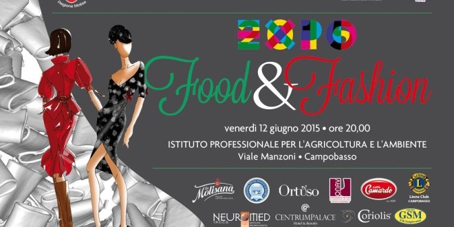 Food and fashion(show #Pierluigi Fucci)!